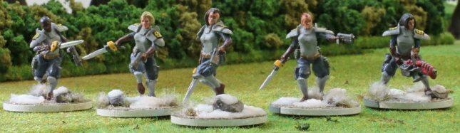 Etoiles Mortant squad #1