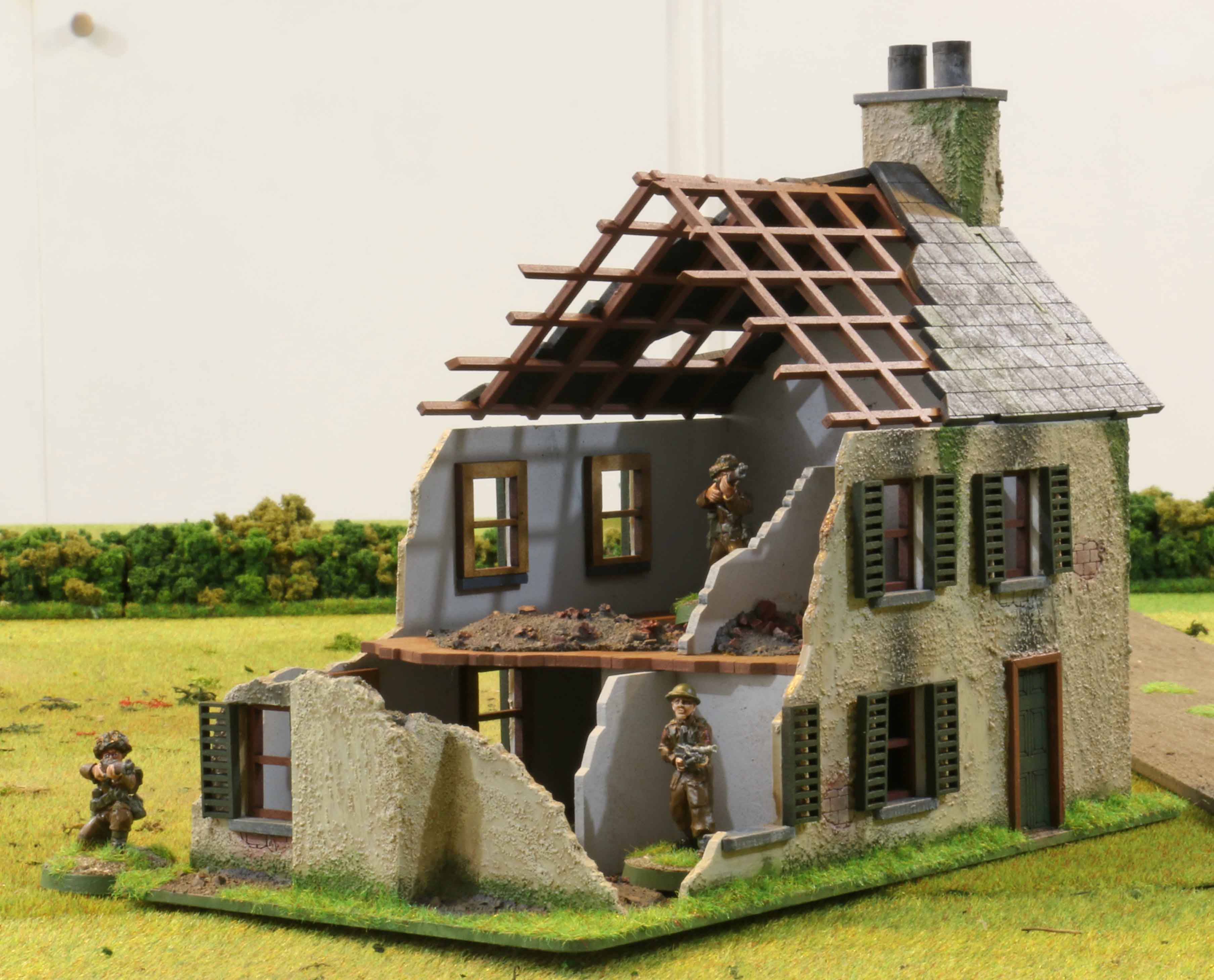 Normandy houses dhcwargamesblog for Best house pics