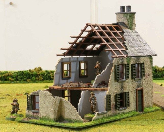 Normandy Farmhouse ruin