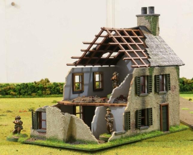 Normandy Farmhouse ruin