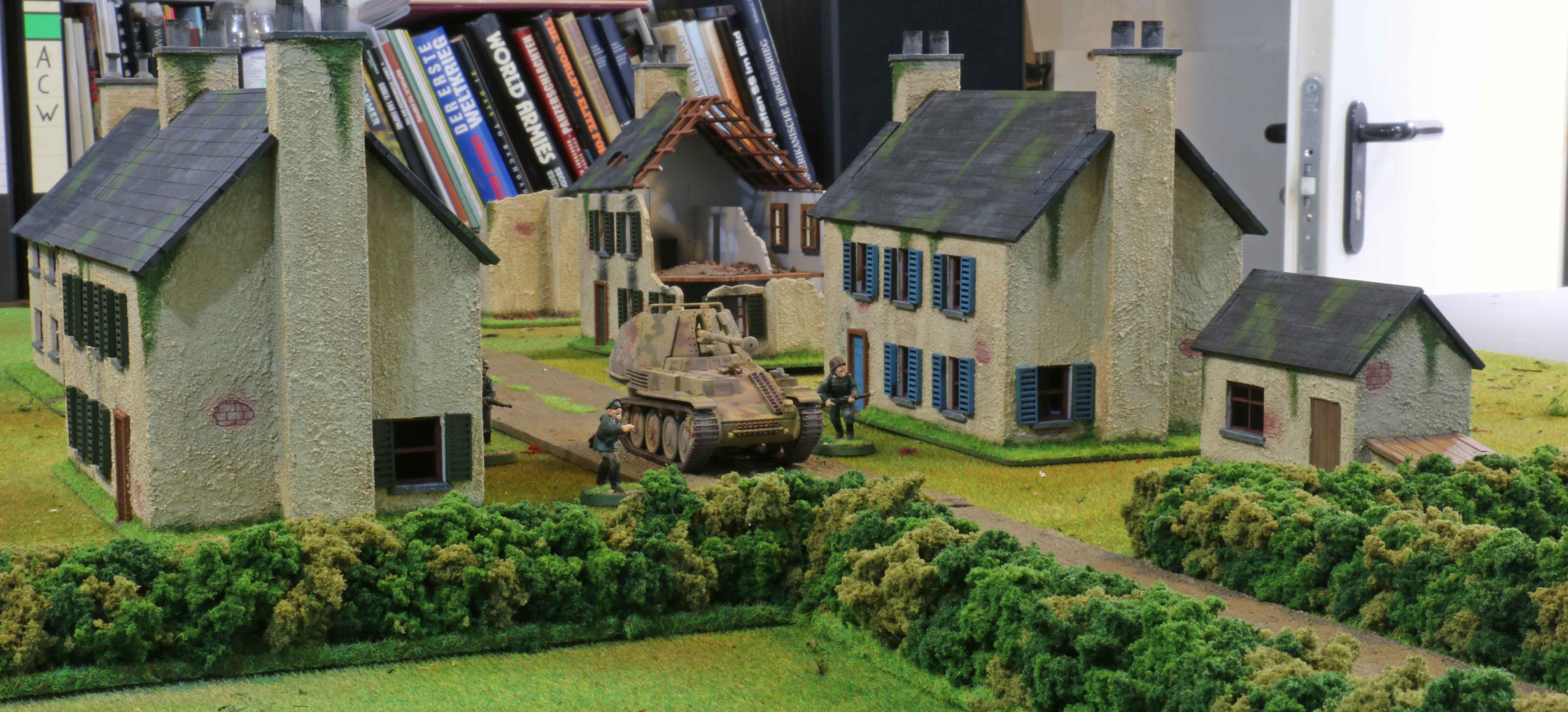 Normandy Houses Dhcwargamesblog