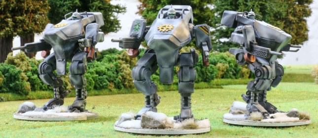 Vulkan suits (Ranged Combat)