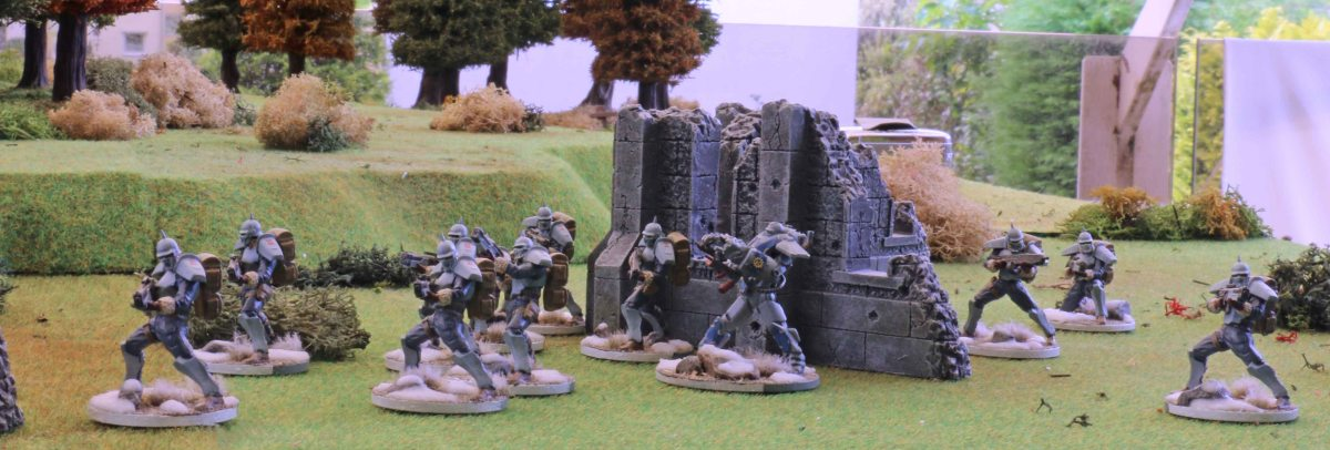 Warzone Resurrection: Bauhaus vs. Dark Legion