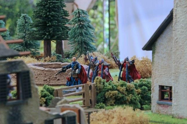Inquisitors advancing