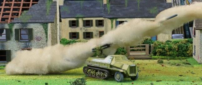 Panzerwerfer #02 firing