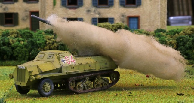Panzerwerfer #04 firing