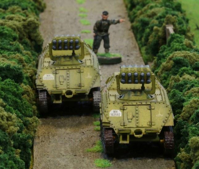 Panzerwerfer battery