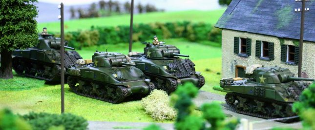 Crisis 2014 - Sherman troop on the move