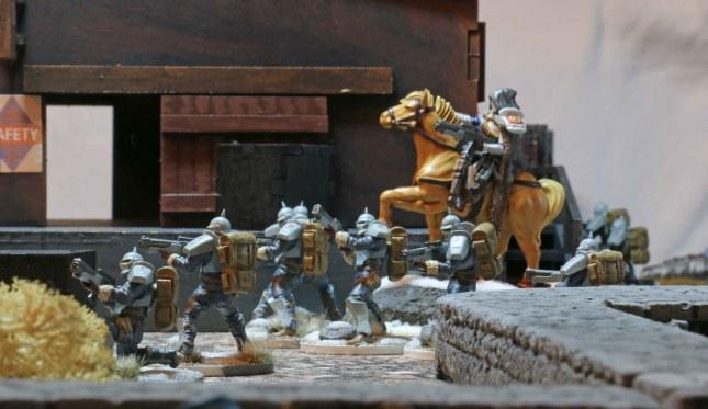 Hussars advancing