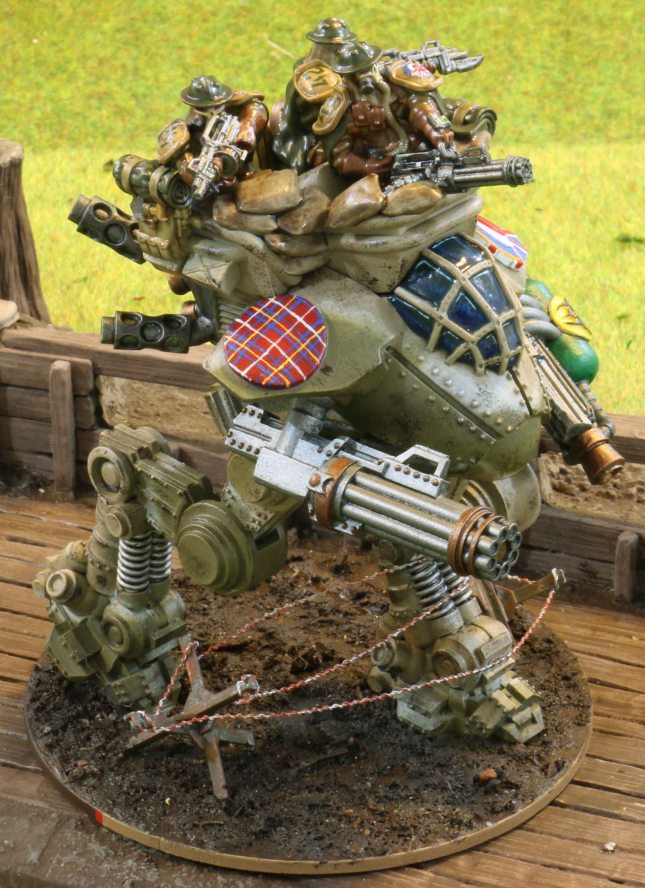 "Hurricane Walker ""Stuart"" with Gun Nest"