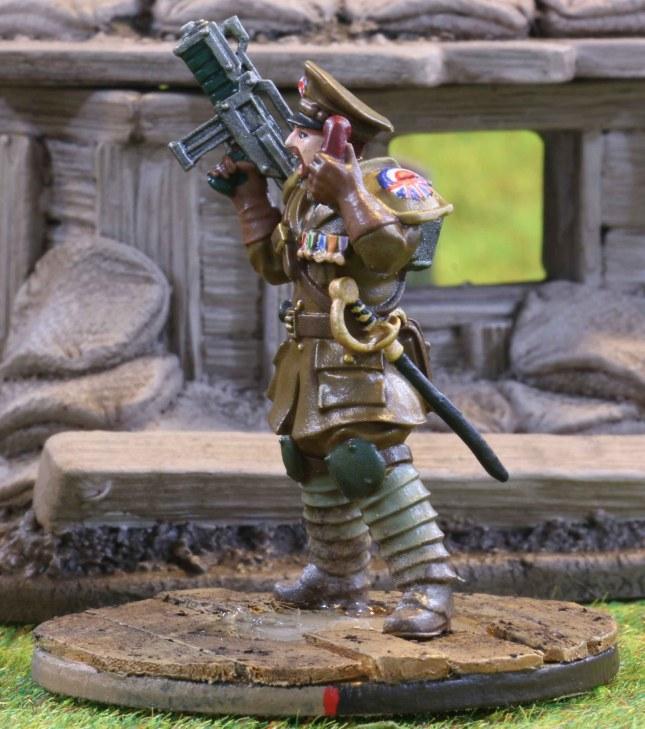 Trencher Brigadier Sir Paul David Rist
