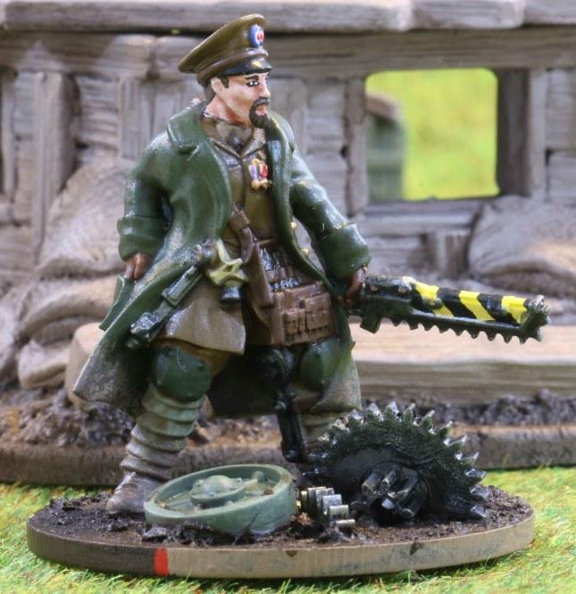 Trencher NCO Benjamin Taylor