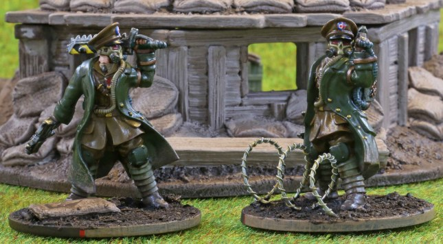 Trencher Officers