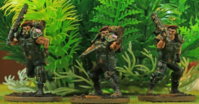 Blood Berets (additions to my close combat squad)