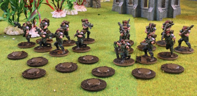 Blood Berets (both squads and AT-mines)
