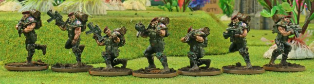 Blood Berets (ranged combat squad)