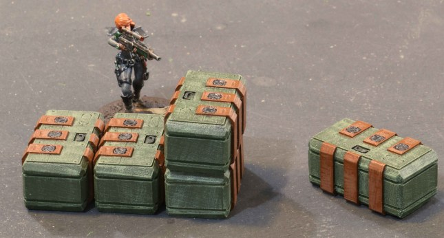 Ammo containers
