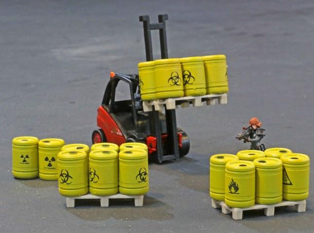 HazMat barrels