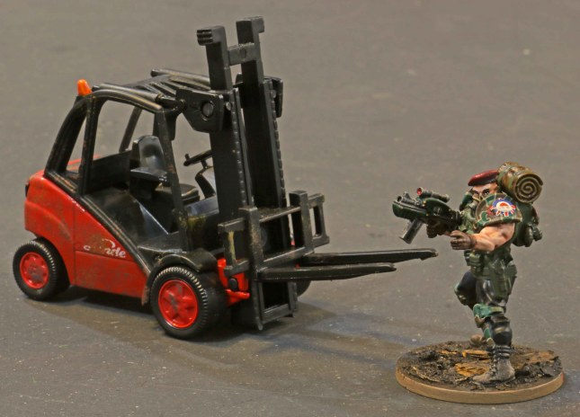 Small Forklift