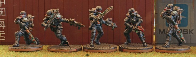Black Berets (1st Squad)