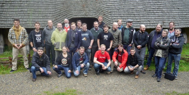 SAGA German Grand Melee 2015 (group shot of the players)