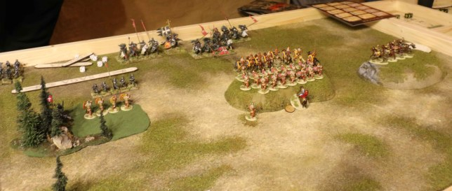 SAGA German Grand Melee 2015 (2nd game vs. Milites Christi)