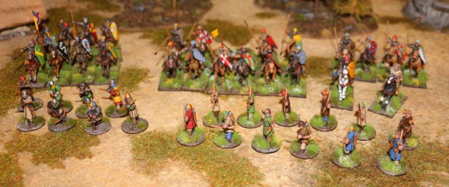 SAGA German Grand Melee 2015 (Norman Warband)