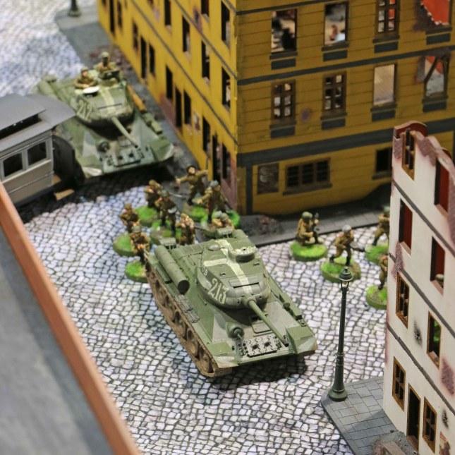 T-34s advancing