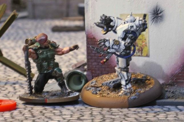 Blood Beret taking out a Bauhaus Juggernaut