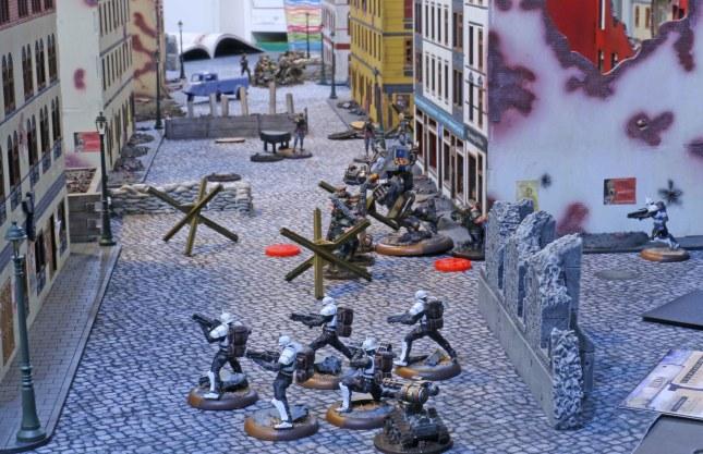 Clash on the flank