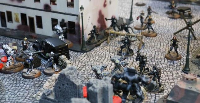 Fighting in the Bauhaus deployment zone
