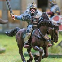 SAGA Anglo-Saxon mounted Heathguards (2nd Entry, 6th AHPC)