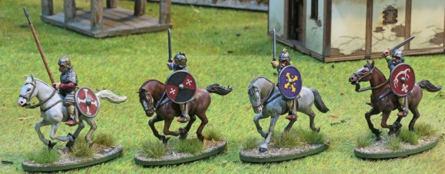 Anglo-Saxon mounted Heathguards