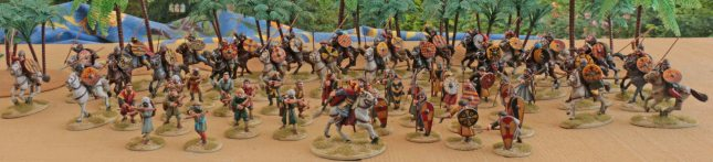 SAGA Spanish Warband (8 pts.)