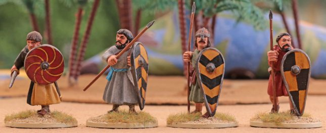 SAGA Spanish (Warriors on foot)