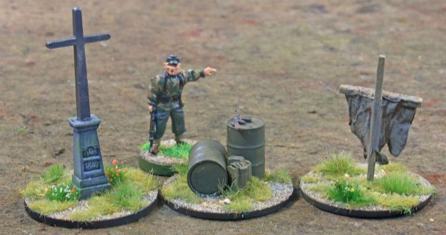 Battlegroup objektive markers