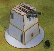Battle Kiwi Star Wars Legion Turbo Laser turret
