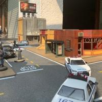 Modern US inner city terrain