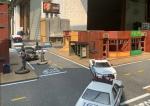 Modern US inner cityterrain