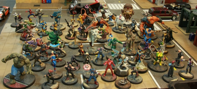 All my Marvel Crisis Protocol minis painted so far